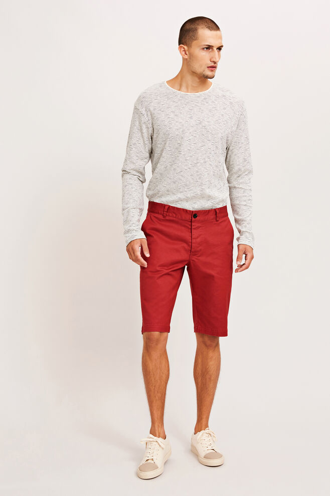Balder shorts 7321, BRICK RED
