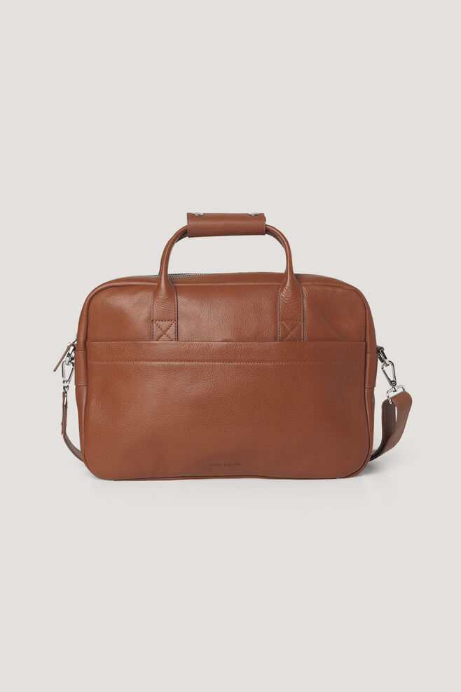 Miro briefcase single 3338, COGNAC