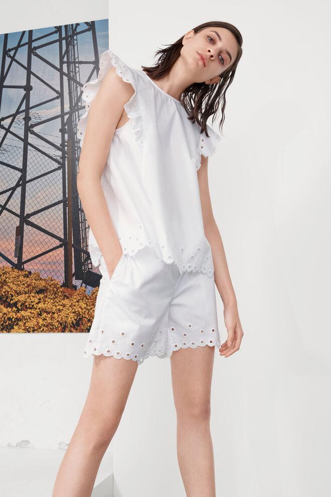 Leone shorts 9936, WHITE