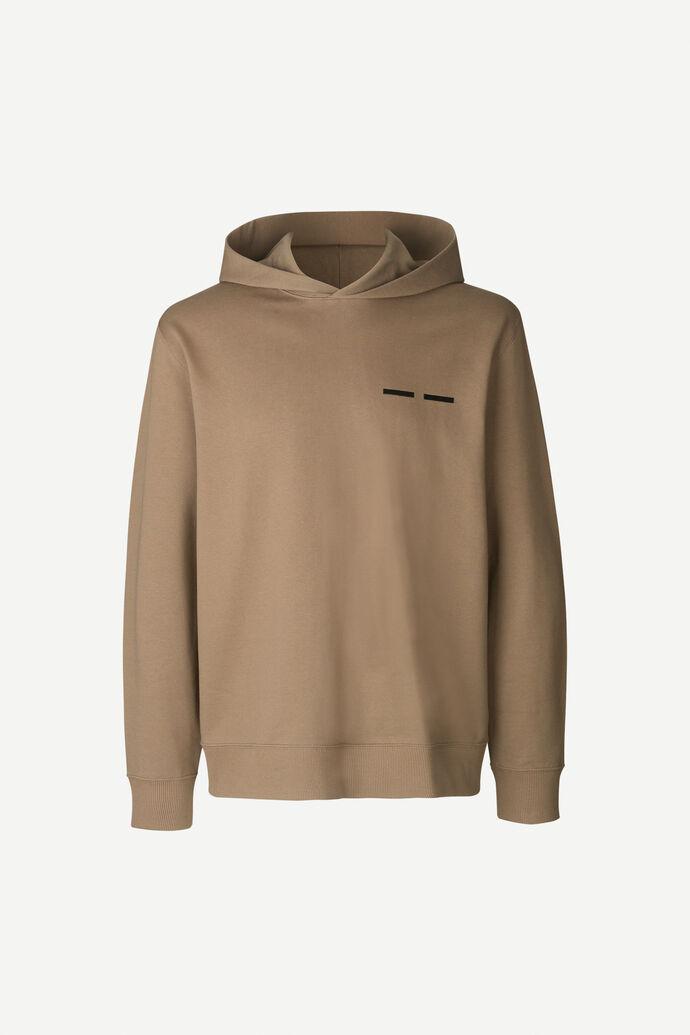 Toscan hoodie 11414, SHITAKE