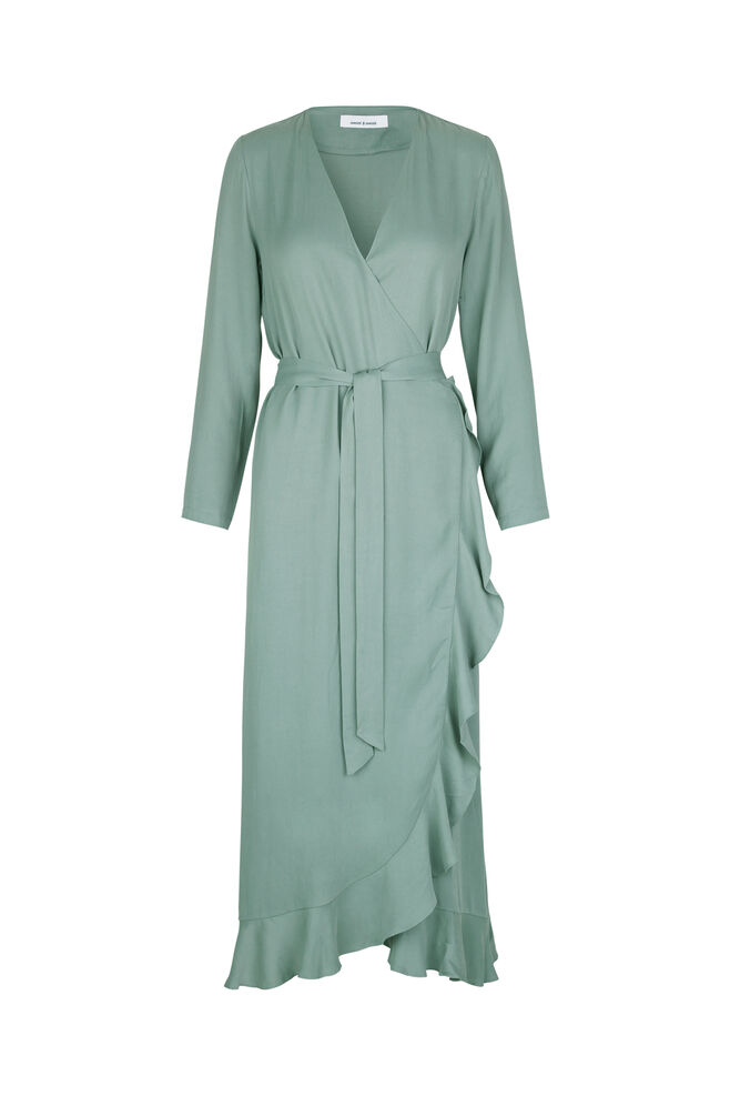 Limon l wrap dress 9941, CHINOIS GREEN
