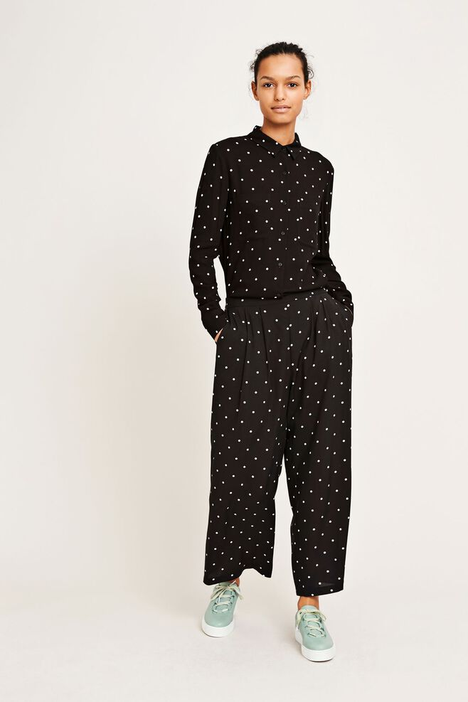 Ganda pants aop 9943, POINT NOIR