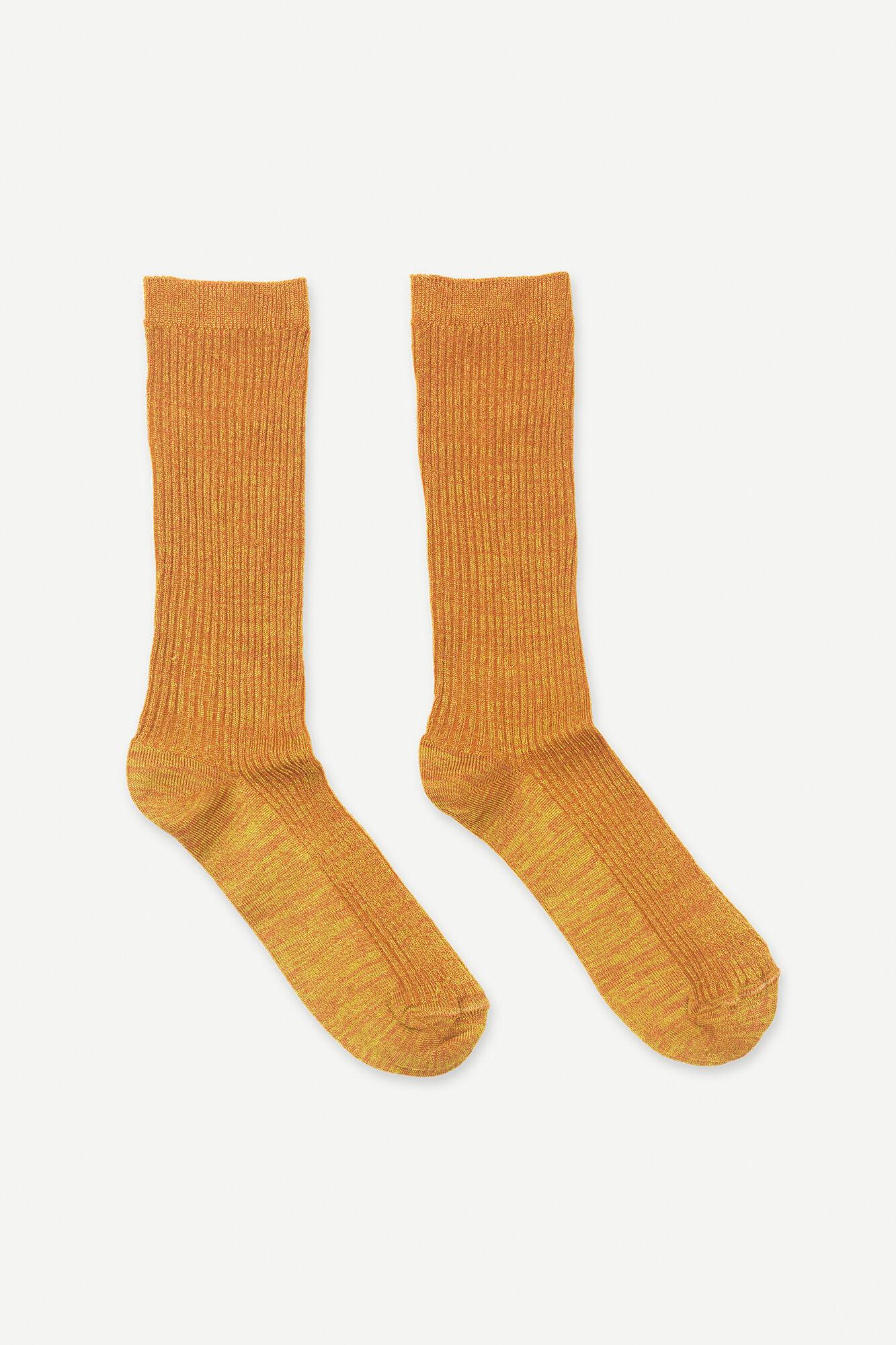 Fluo socks 12881, OLIVENITE MEL.