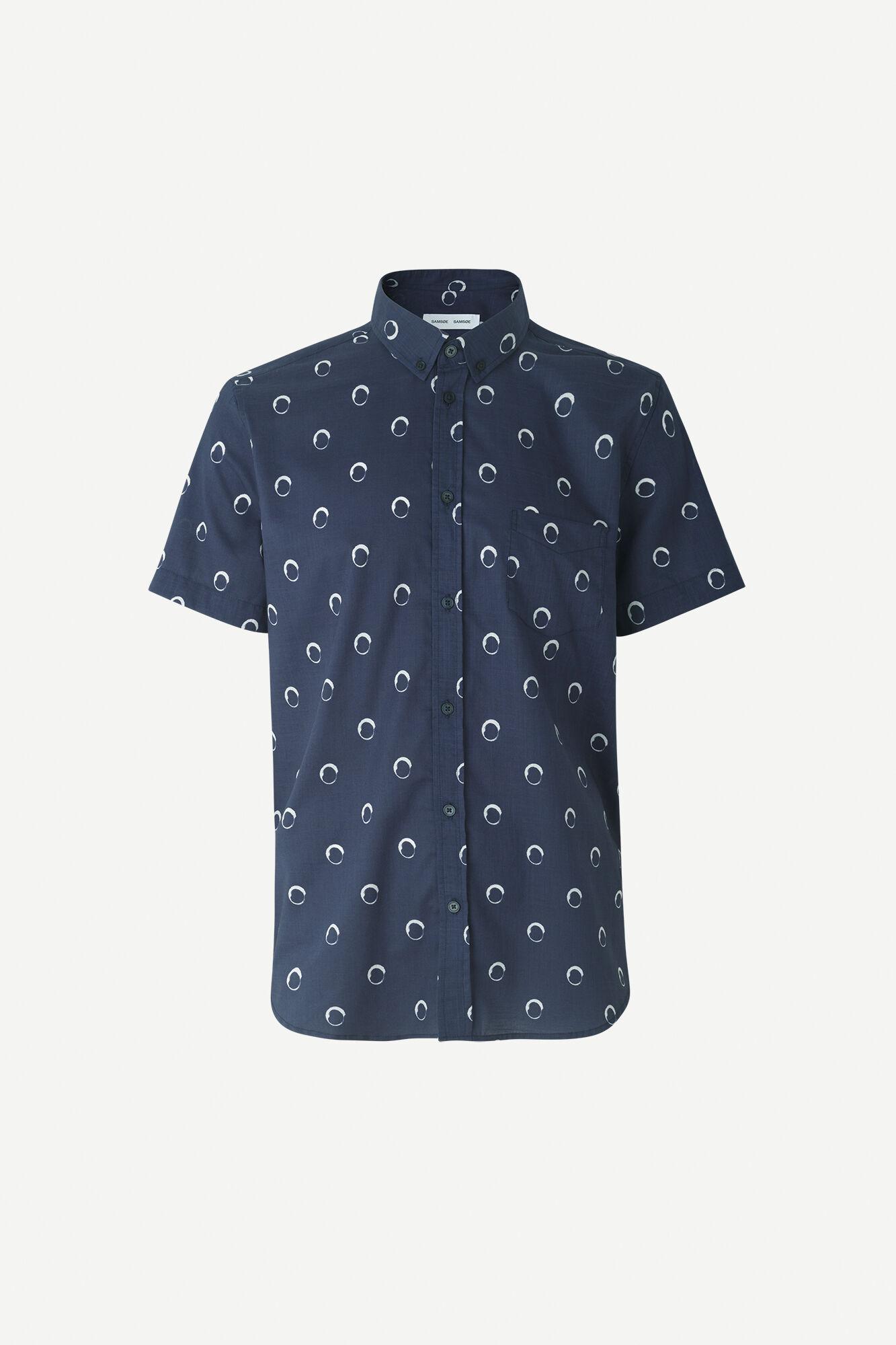 Vento BA shirt aop 11515, NIGHT SKY DOT