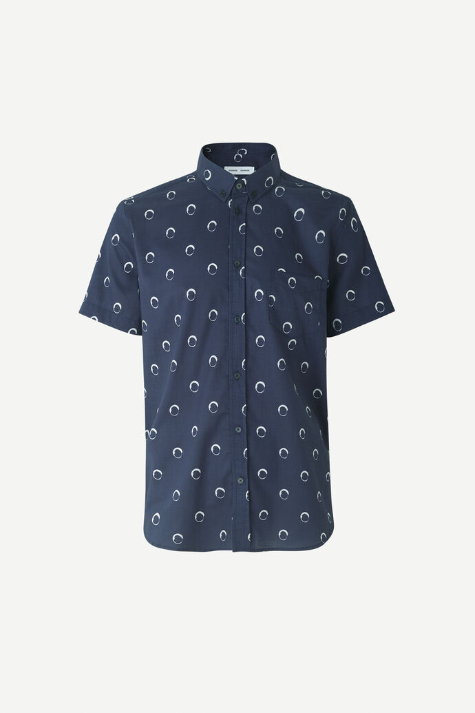 Vento BA shirt aop 11515, NIGHT SKY DOT
