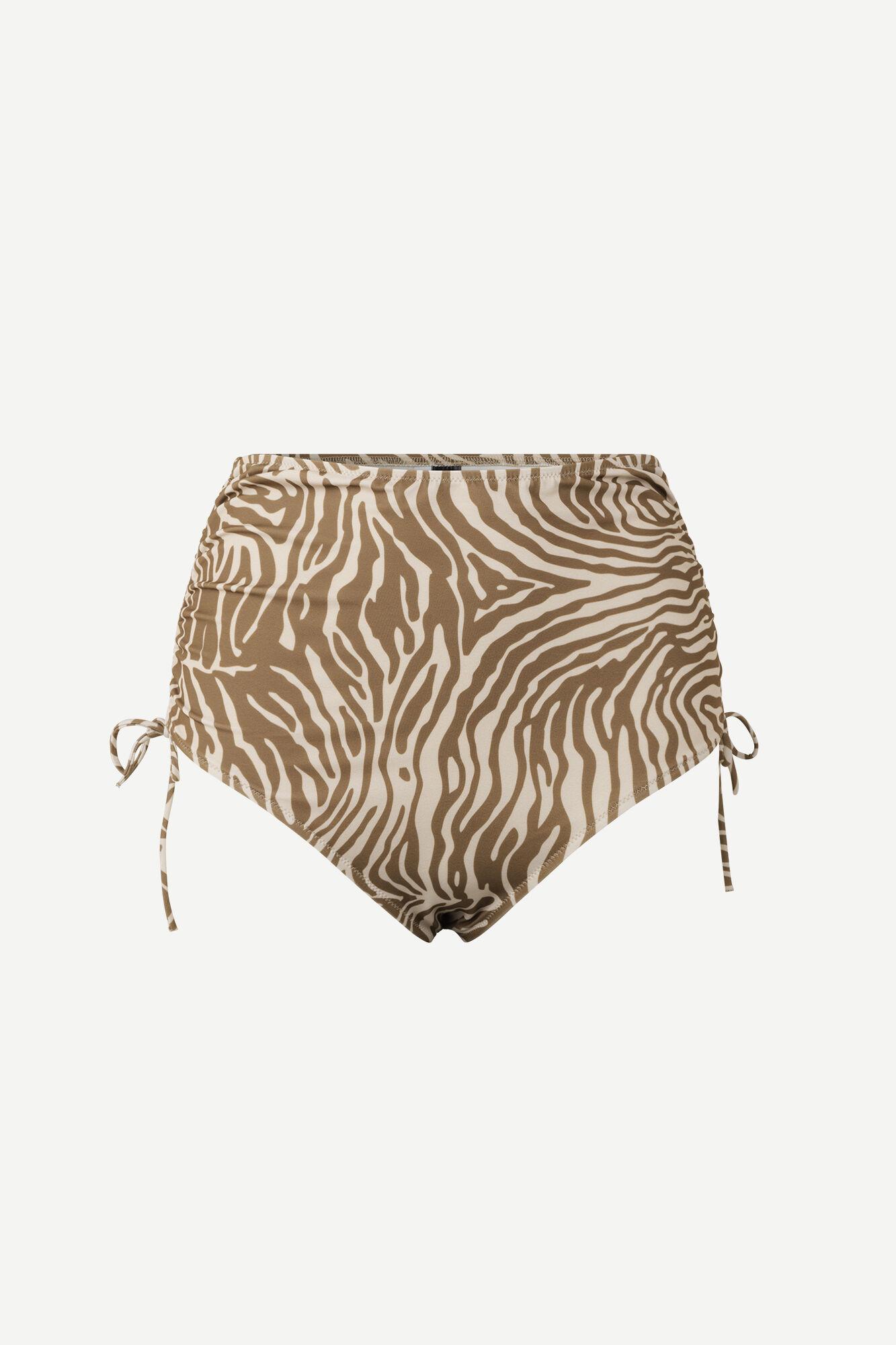 Gytea bikini bottom aop 10725, MOUNTAIN ZEBRA