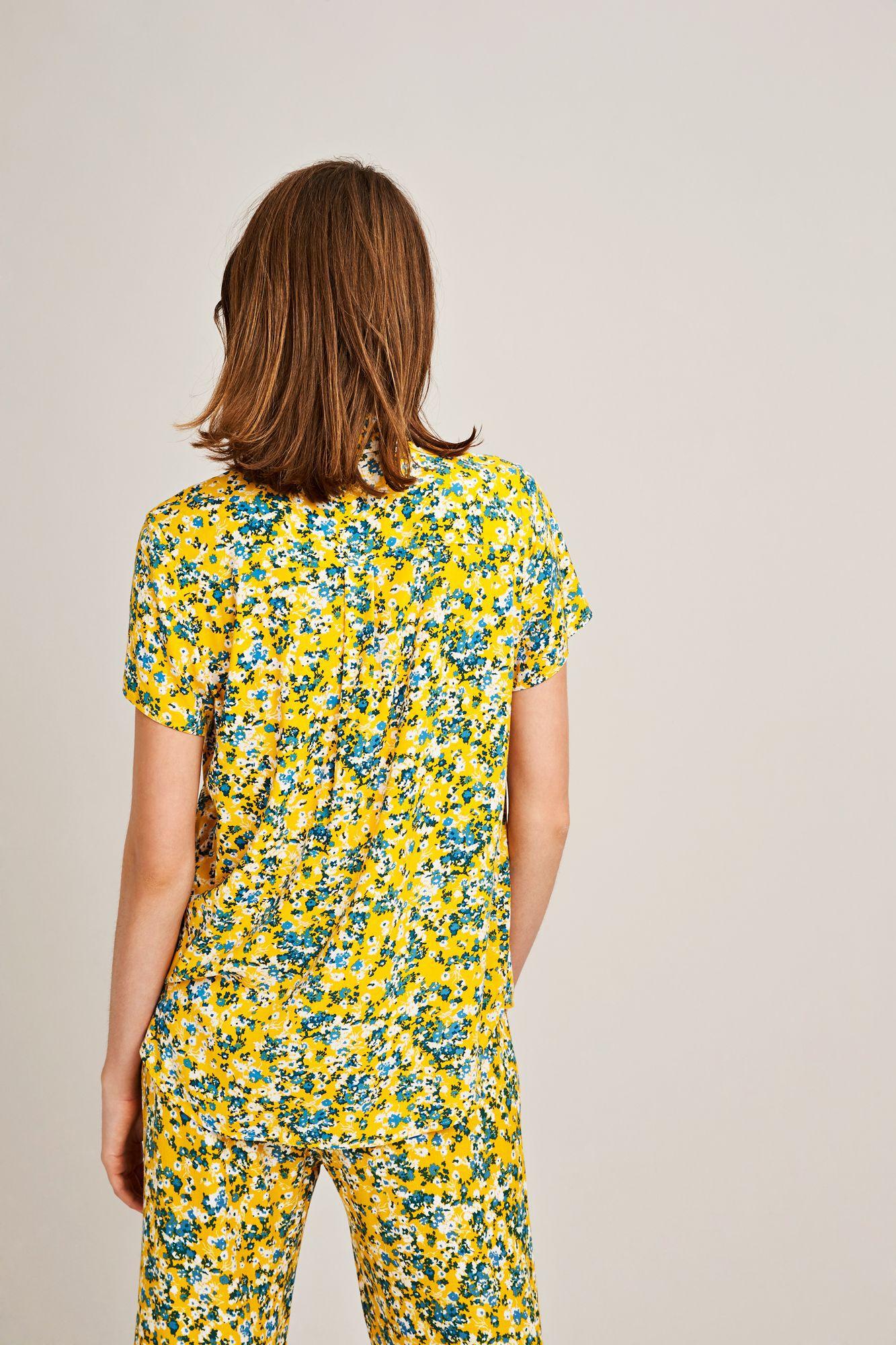 Maj ss shirt aop 9942