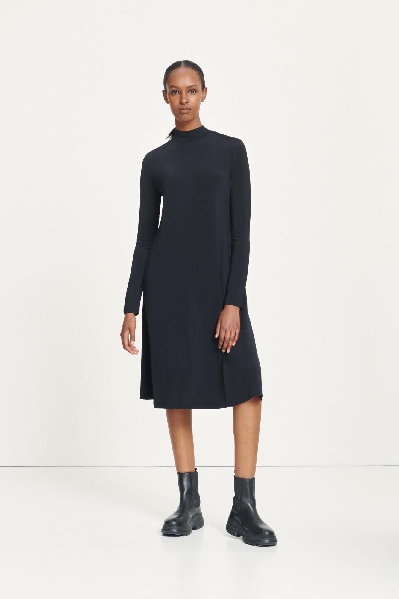 Siffy t-n dress 10908, BLACK