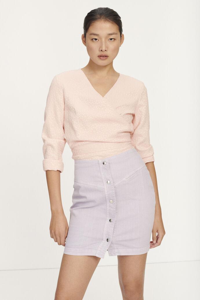 Luna blouse 11402, ROSE FLOWER