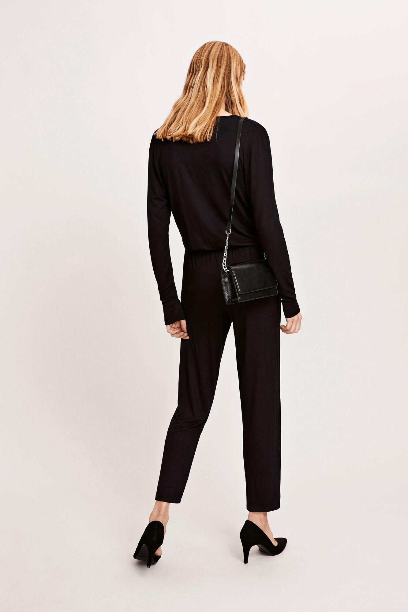 Fanni jumpsuit 8058, BLACK