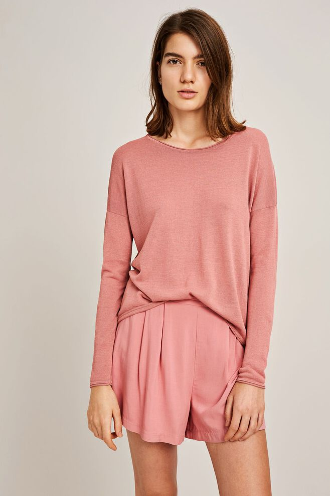 Kally o-neck 5812, DUSTY ROSE