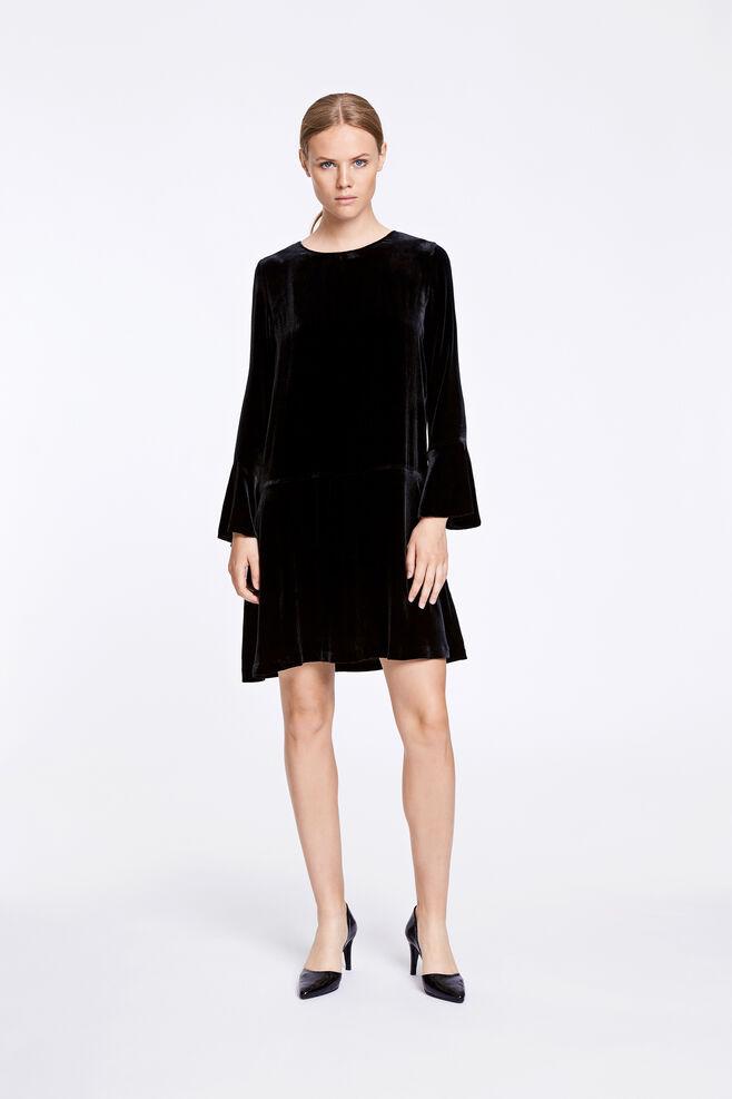 Nikita ls dress 6627, BLACK