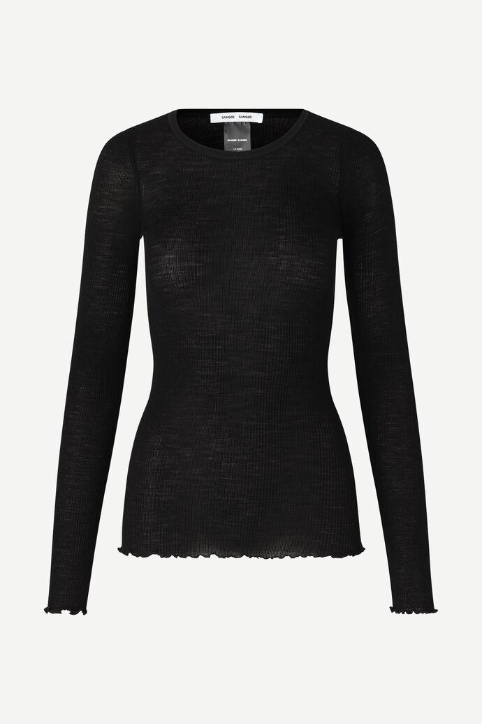 Doudo t-shirt ls 13020, BLACK numéro d'image 5