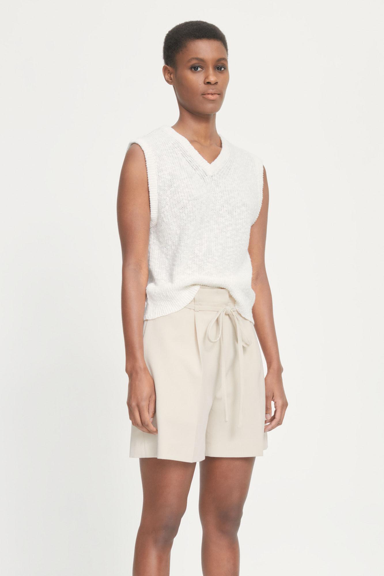 Zoey vest 13996, ANTIQUE WHITE