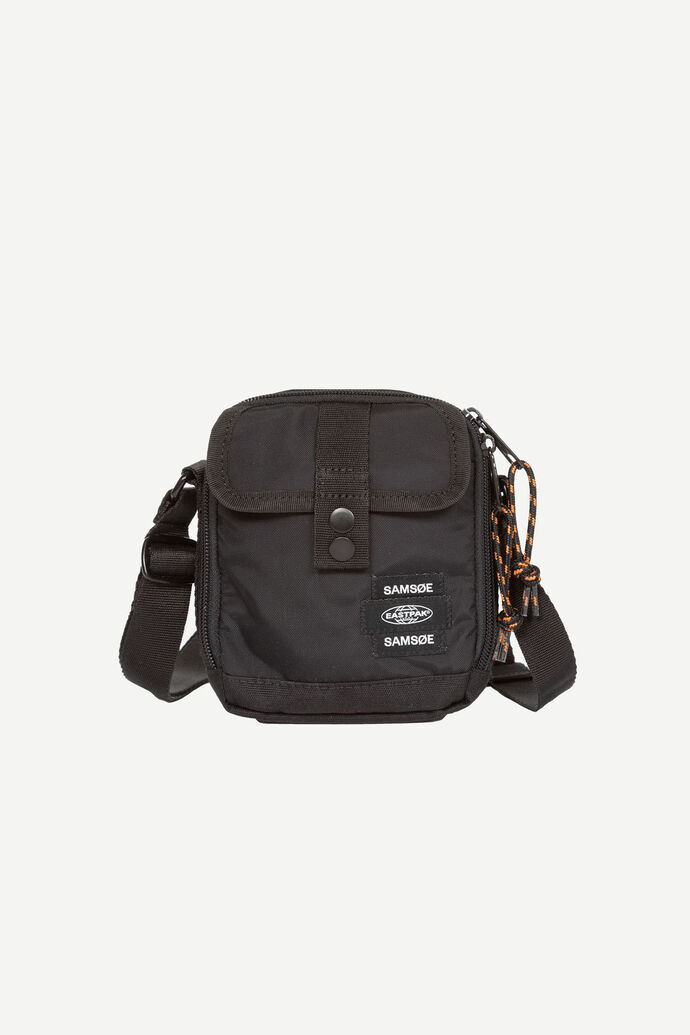 E Crossbody bag 13052, BLACK