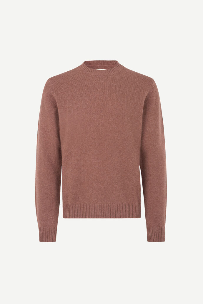 Sylli crew neck 132, CINNAMON