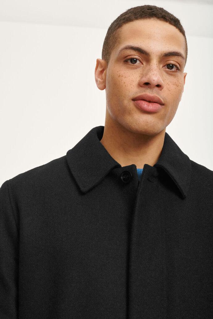 Kenpo x coat 12825, BLACK