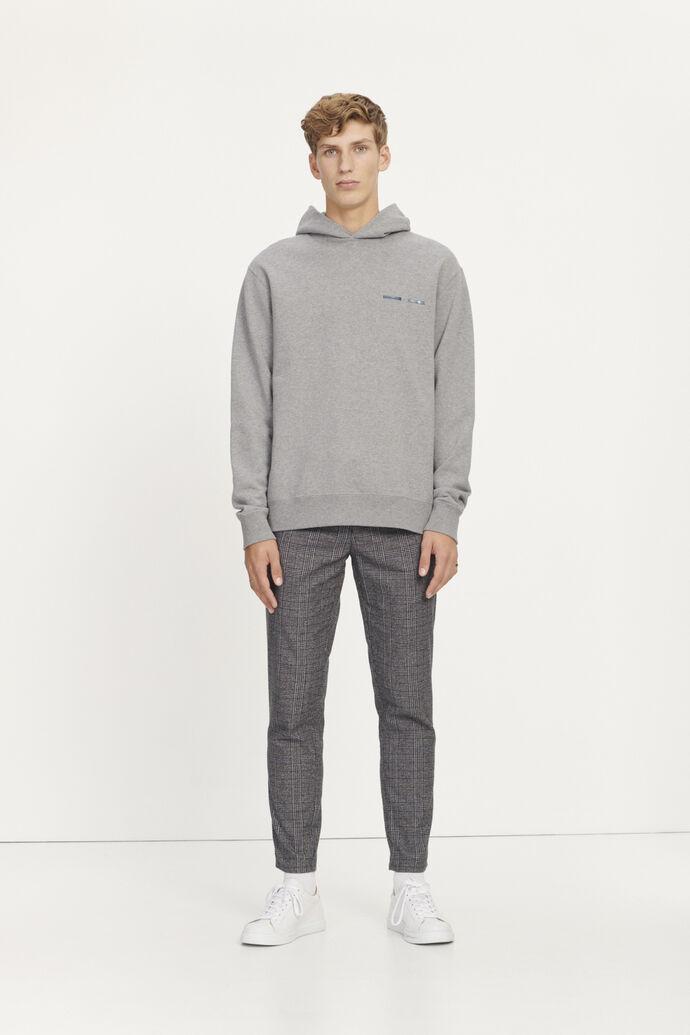 Frankie trousers 11495, GREY MEL CH.