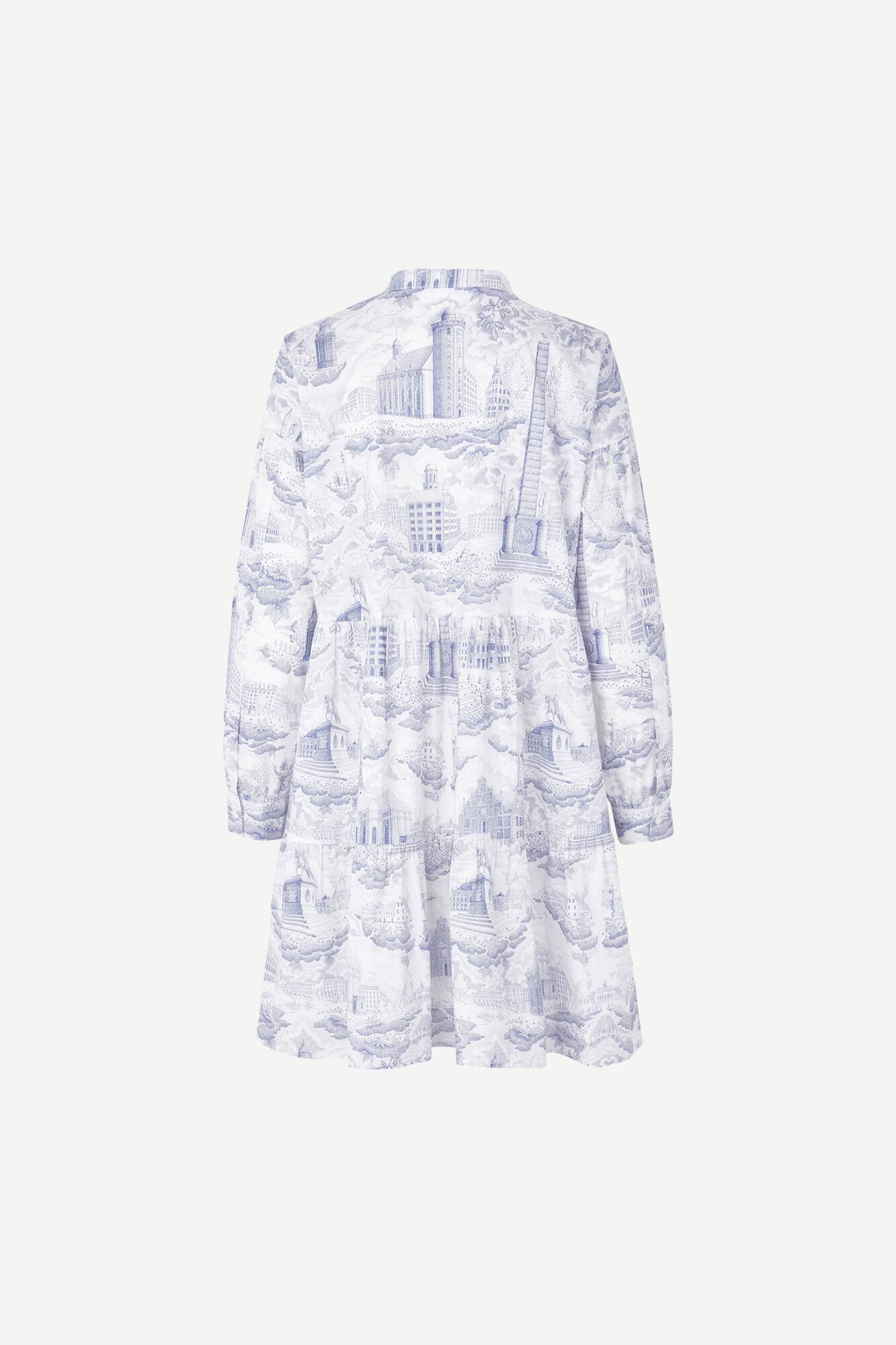 Margo shirt dress aop 11332
