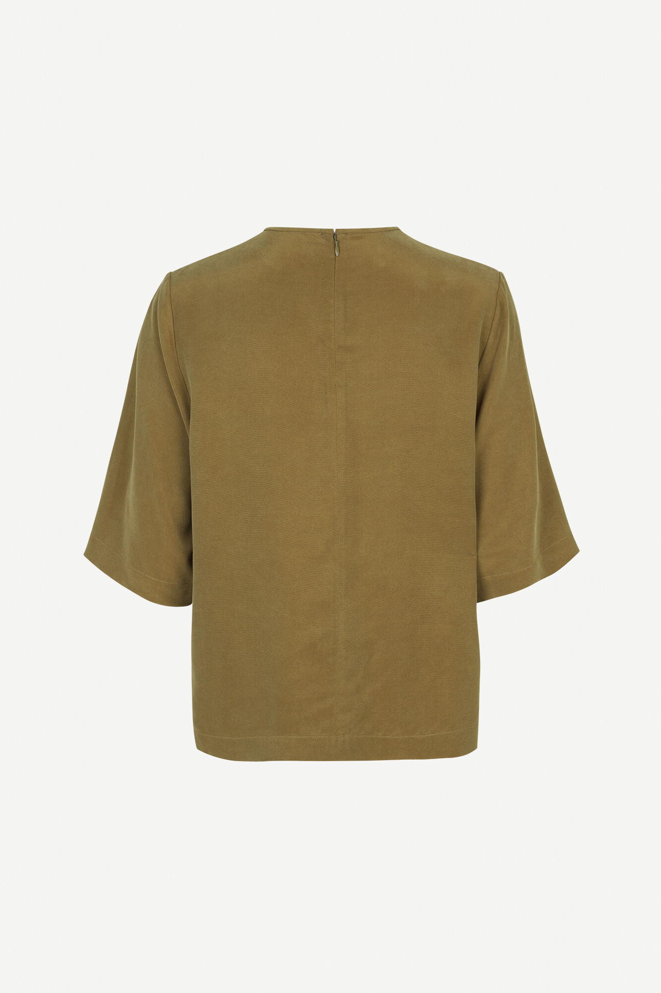 Isabel blouse ss 11464, GREEN KHAKI
