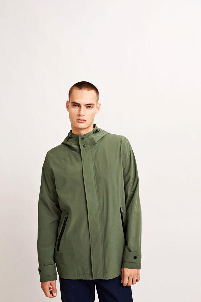Sil hood jacket 7176, THYME