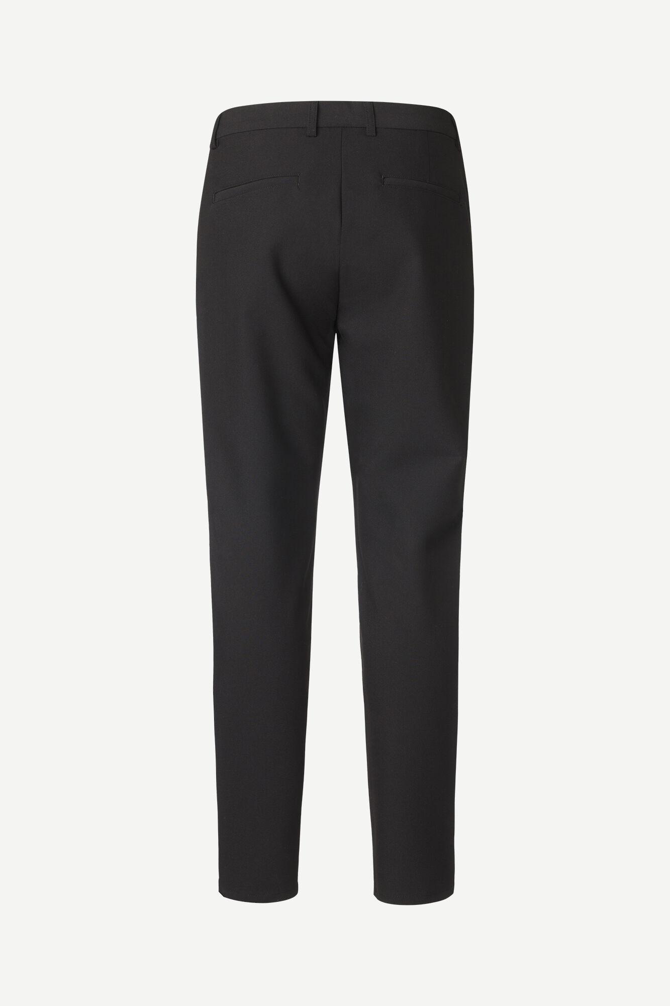 Frankie regular trousers 11686, BLACK