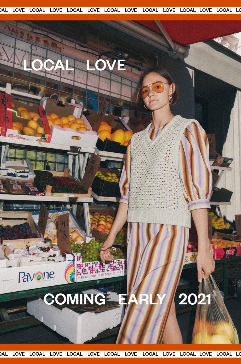 SS2021 Local Love Modetøj til kvinder og Herremode M