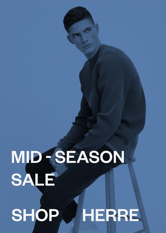 M Herre Mid-Season sale Mode til mænd