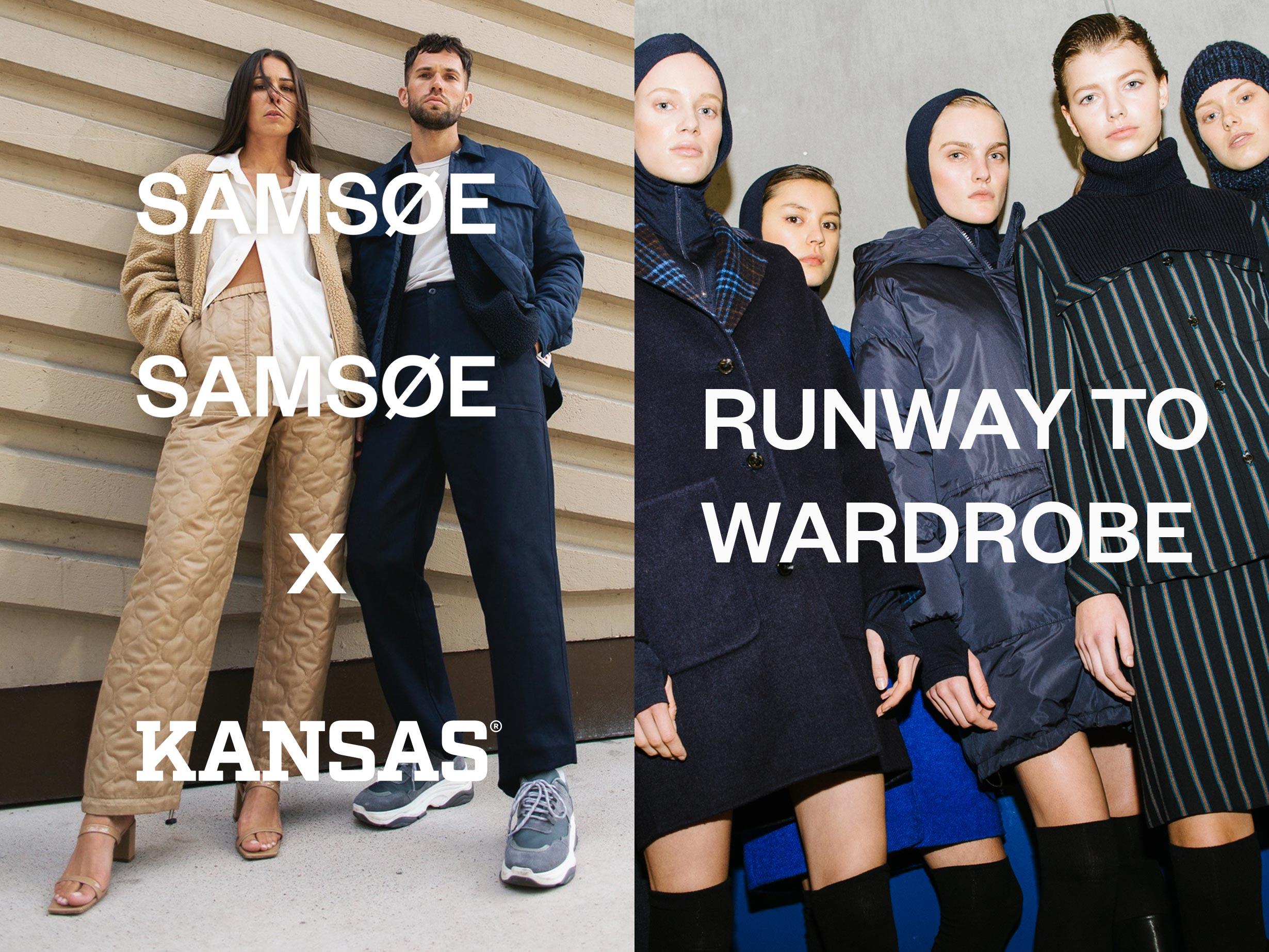 Samsøe Samsøe x Kansas collection Women's fashion and Men's Fashion