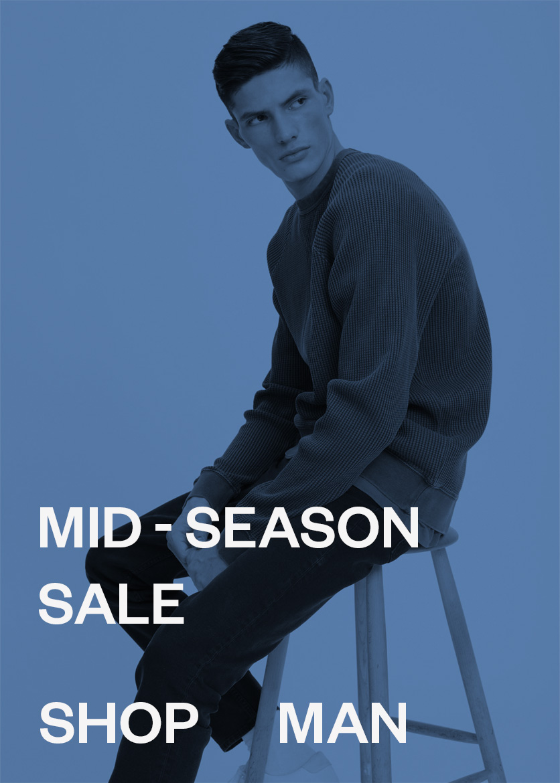 M Man Mid-Season sale men's style