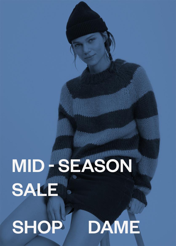 M Dame Mid-Season sale mode til kvinder