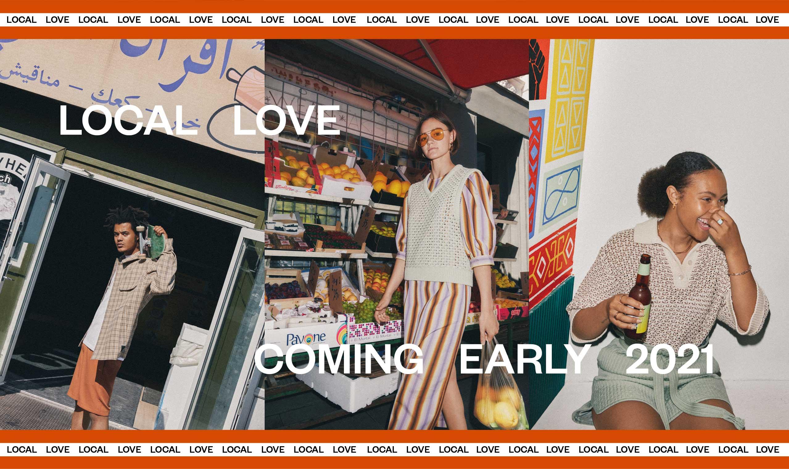 SS2021 Local Love Modetøj til kvinder og Herremode