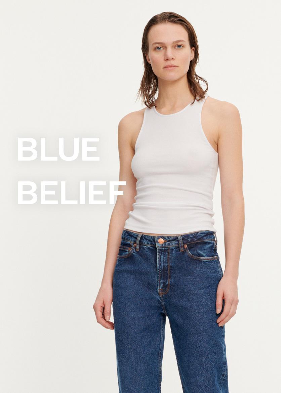 Blue Belief Damemode