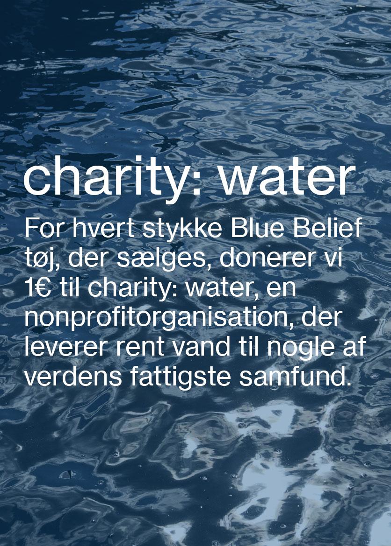Charity: water Modetøj til kvinder og Herremode M