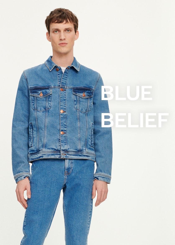 Blue Belief Mode masculine