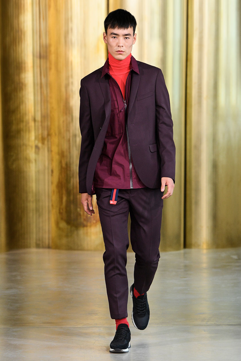 Man Runway To Wardrobe