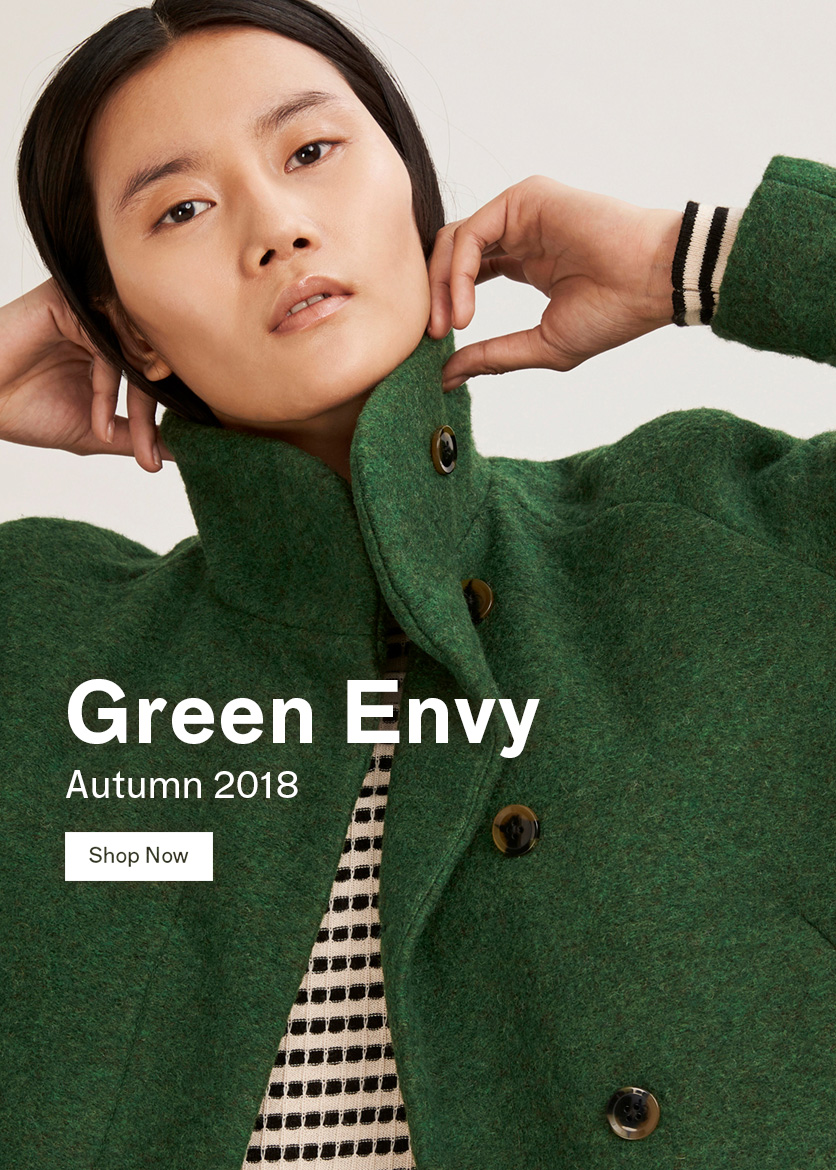 Woman Green Envy