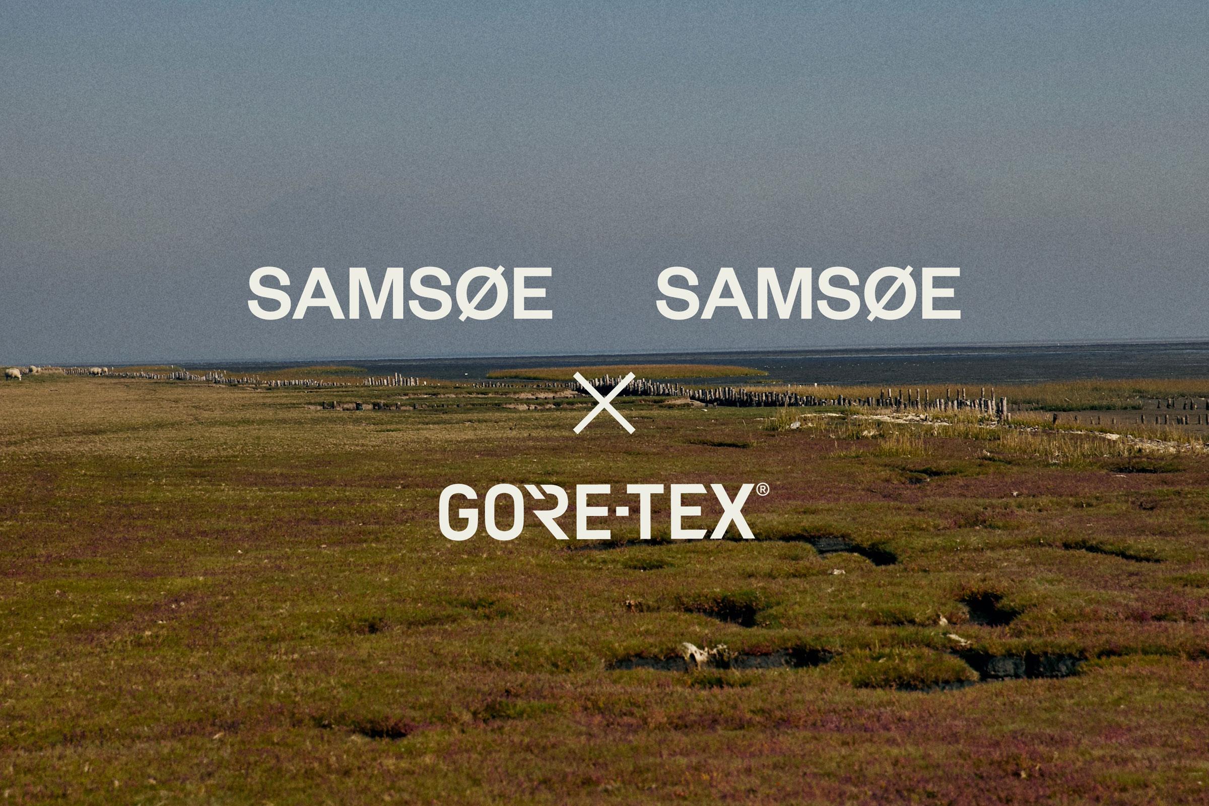 2020A Samsøe Samsøe x Gore-tex