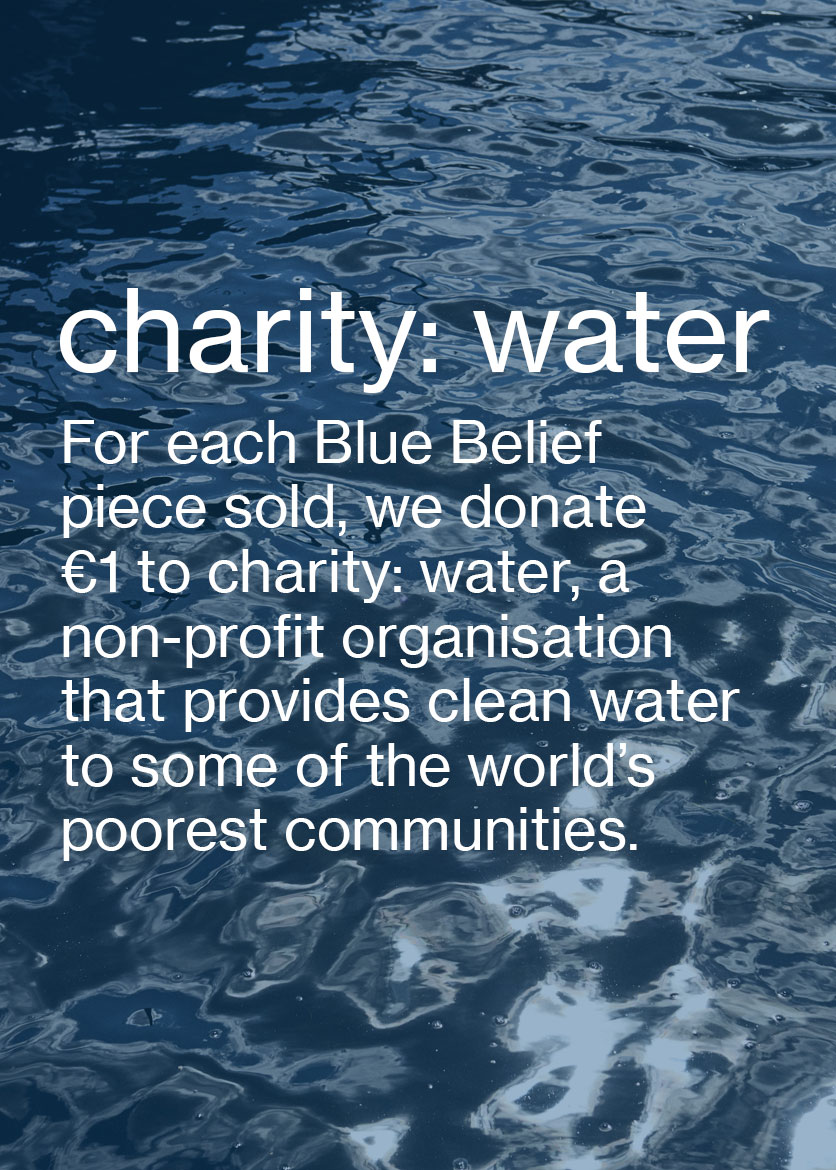 Charity: water Women's fashion and Men's Fashion M