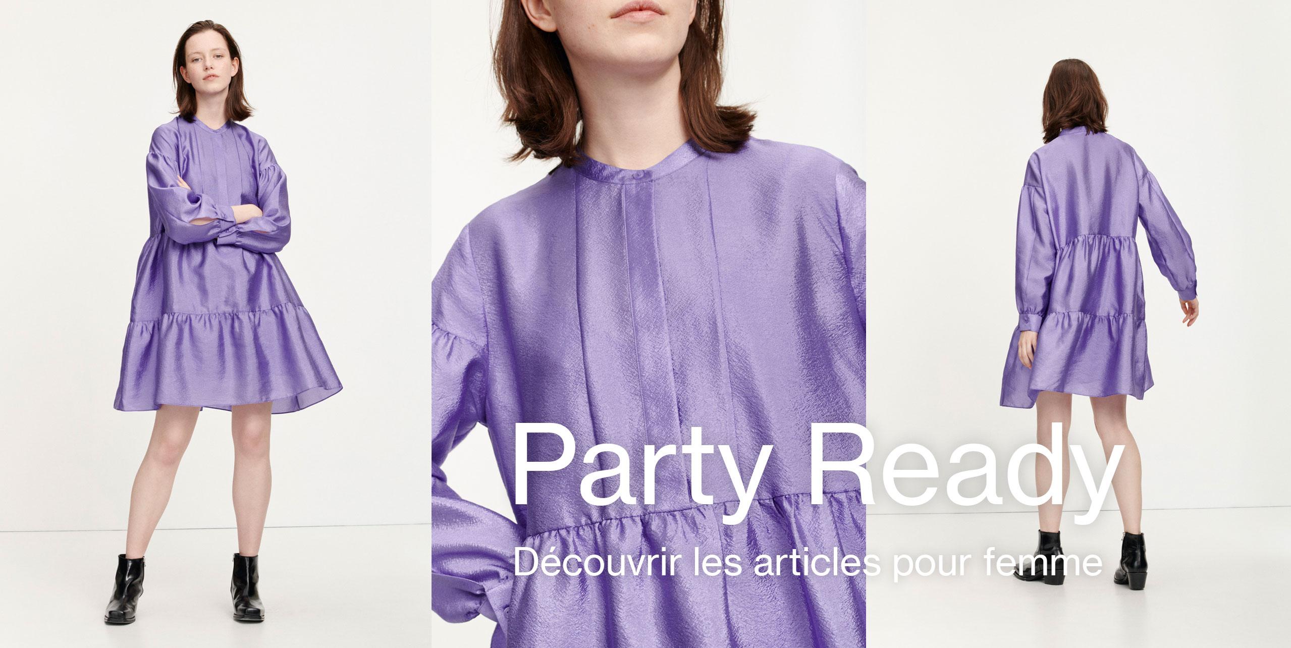 Party ready Mode féminine