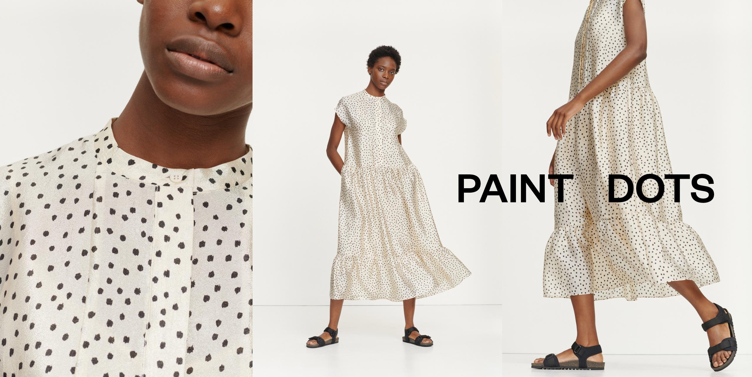 Margo long dress aop 11244 Women's fashion