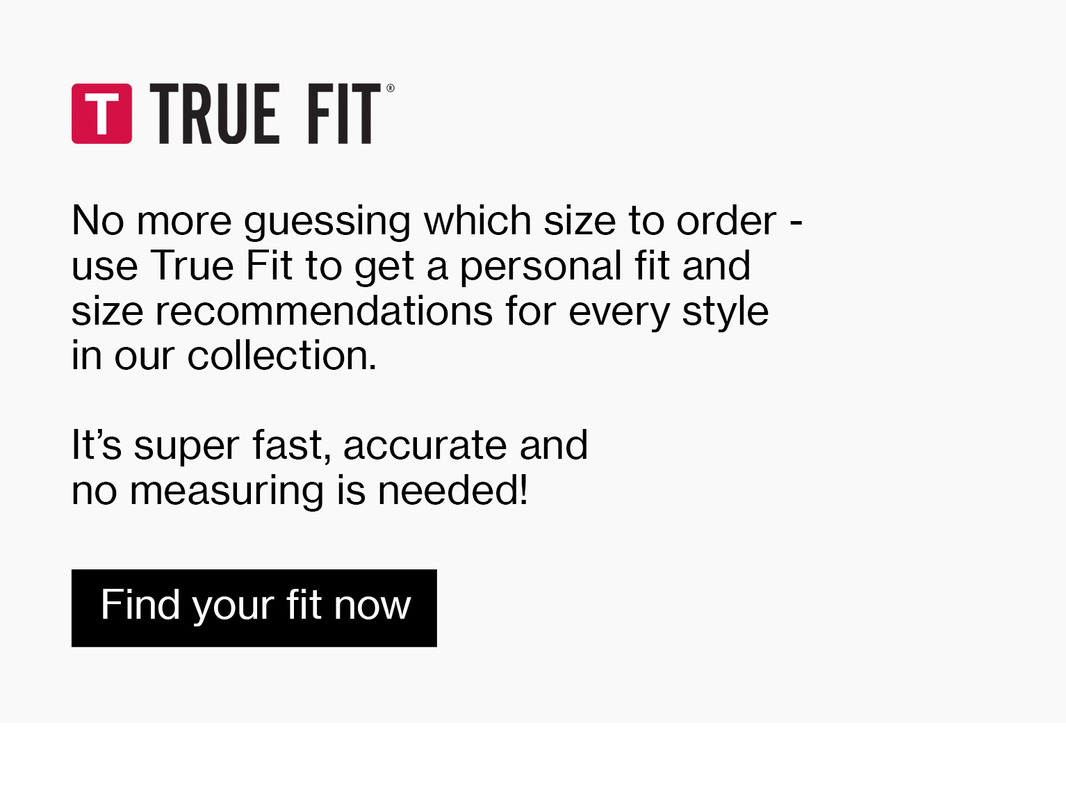 True Fit Online fashion store M