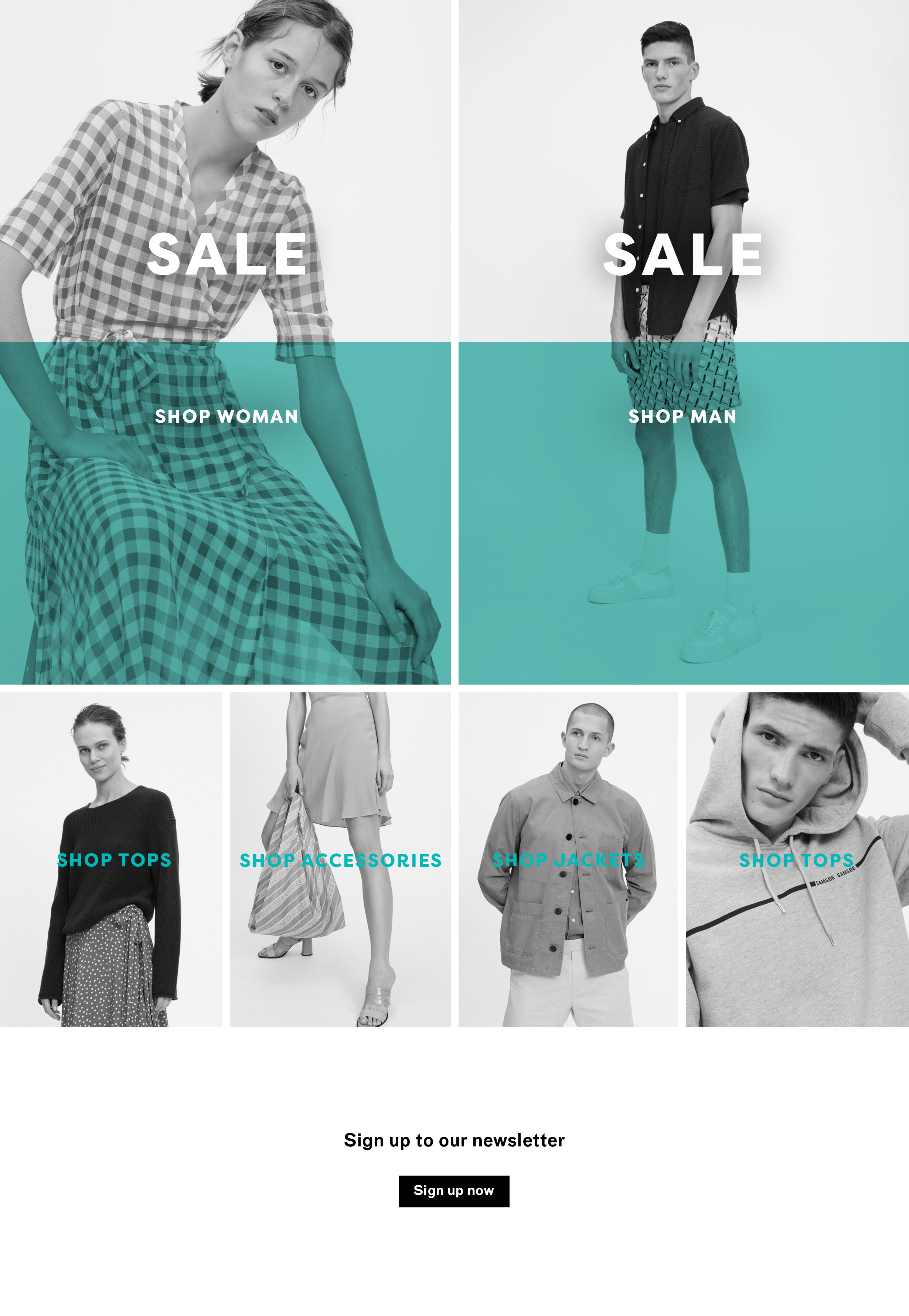 Women's Fashion Sale and Men's Fashion Sale