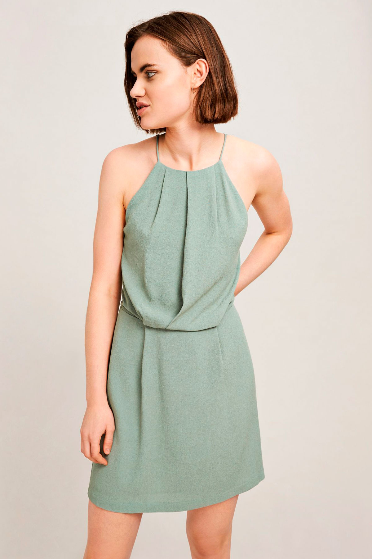 Willow short dress aop
