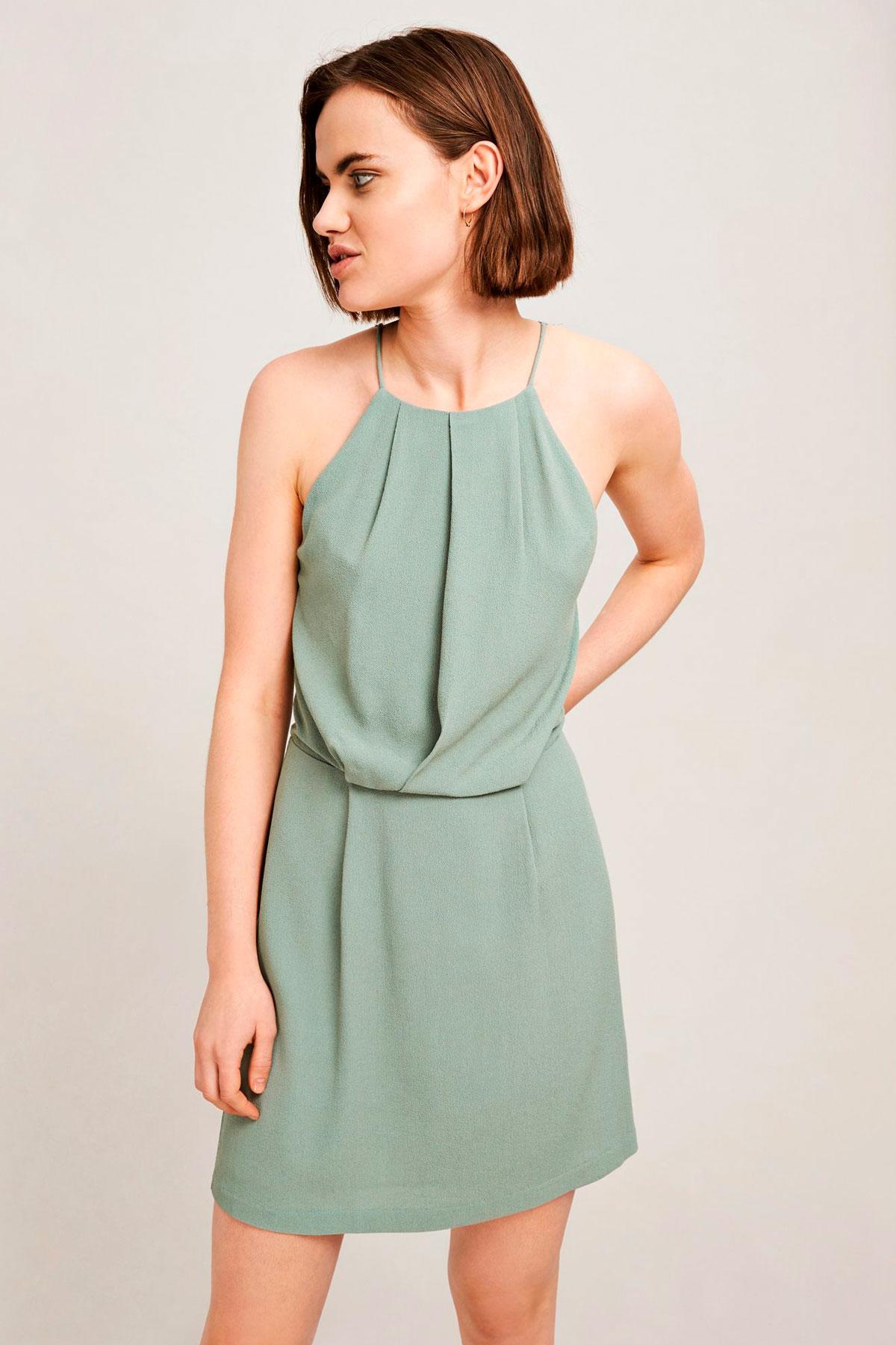 Willow short dress aop
