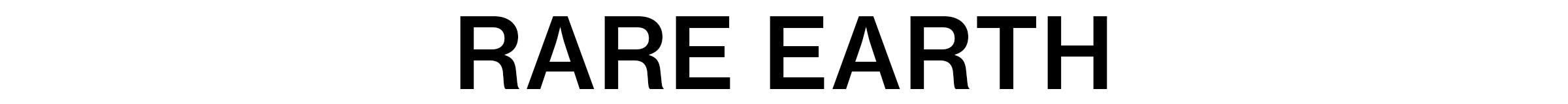 2020A Editorial Rare Earth