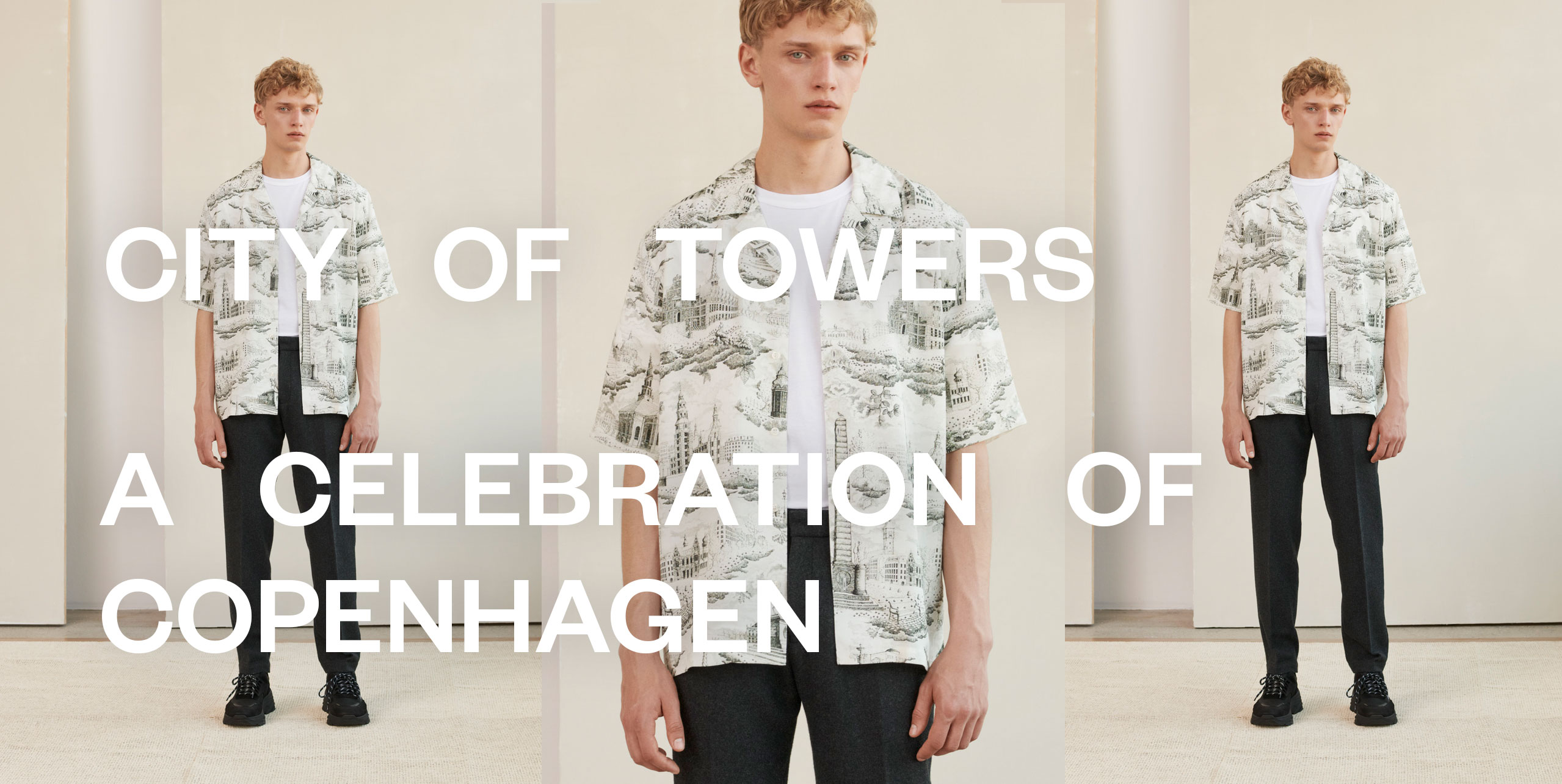 City of Towers Men's fashion
