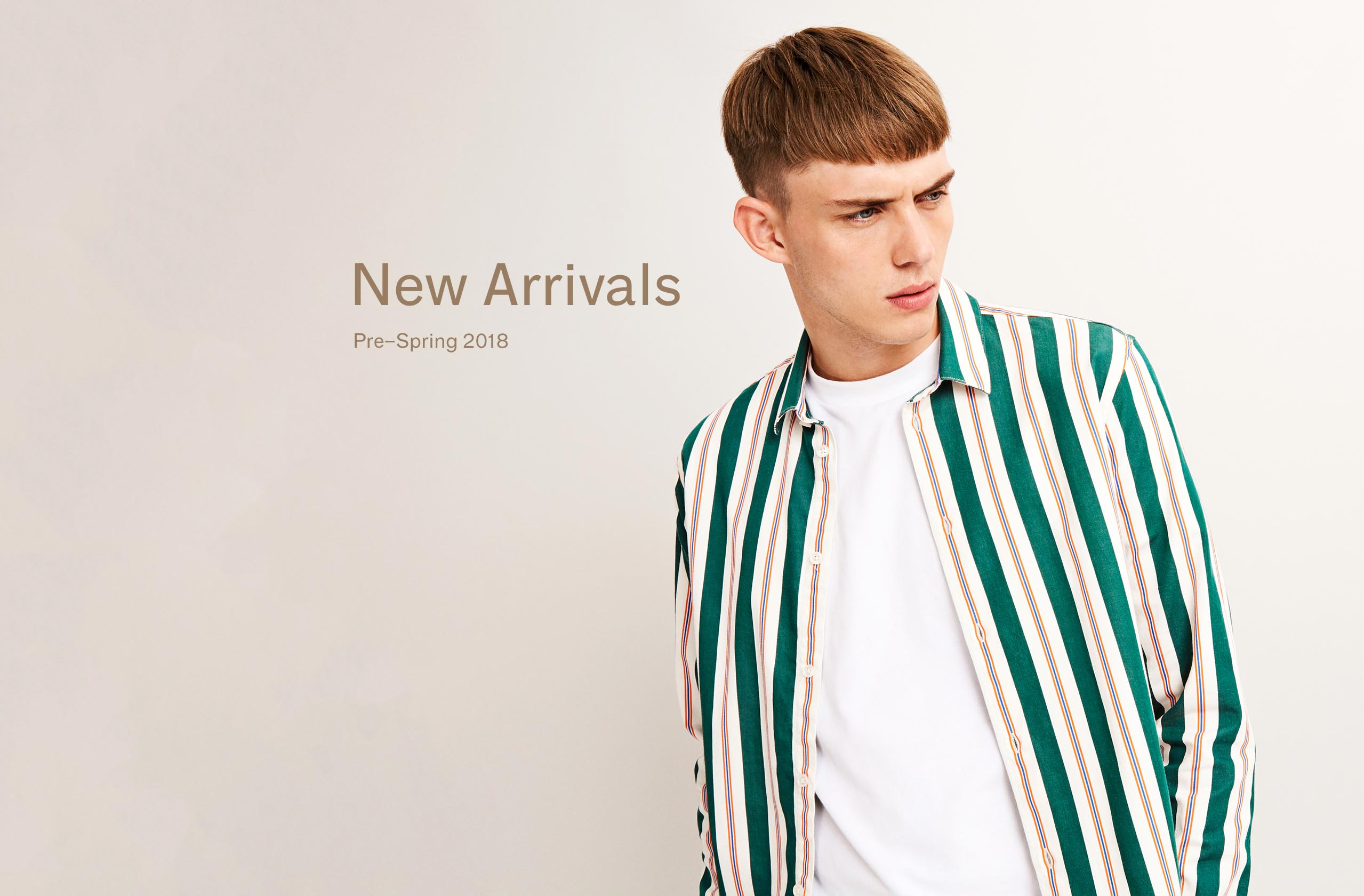 New Arrivals Pre-Spring 2018 Man