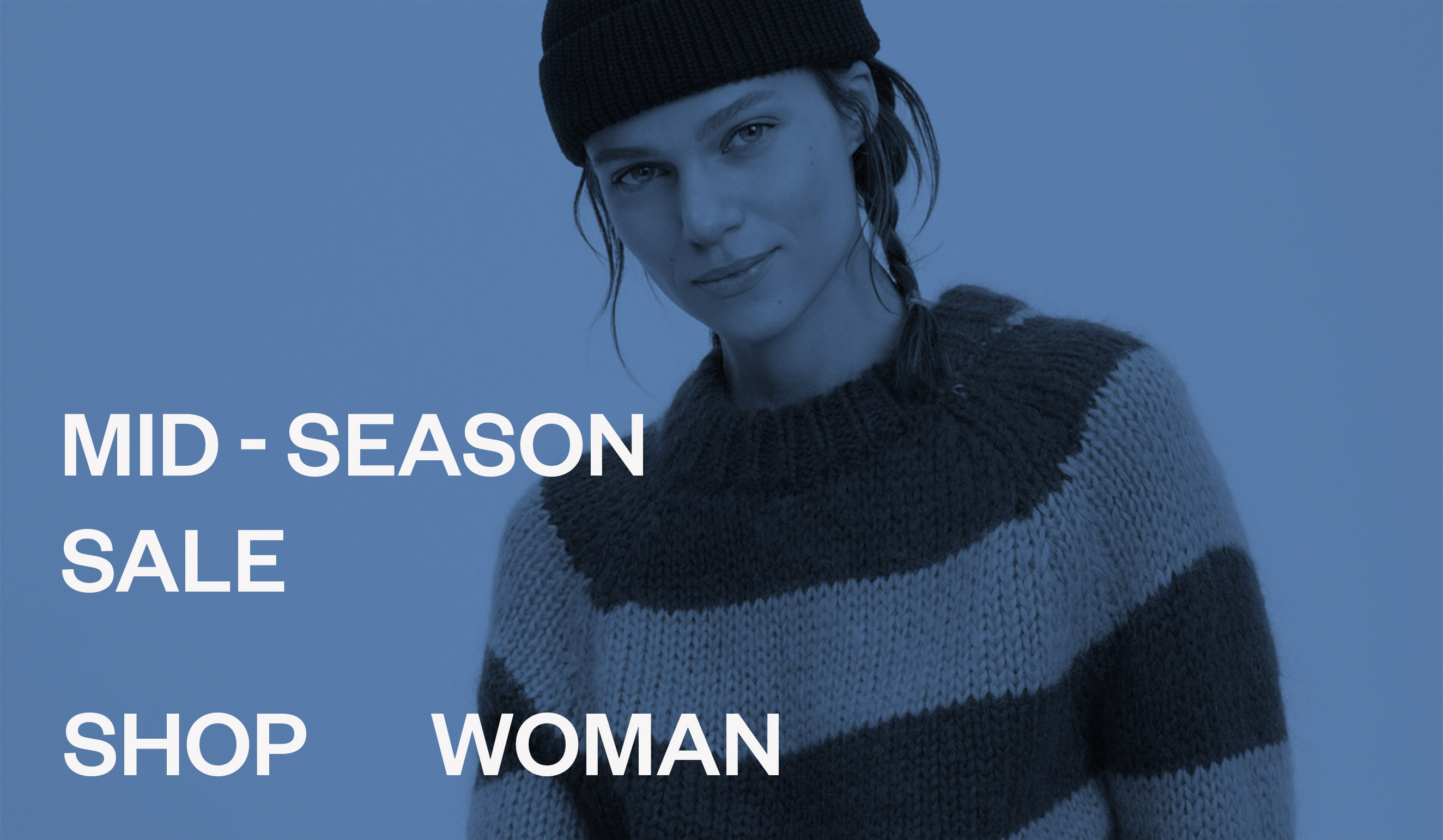 Woman Mid-Season sale ladies fashion