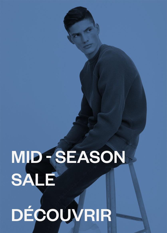 M Les soldes di mi-saison mode masculine